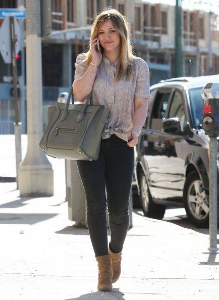 Hilary Duff - January 2013