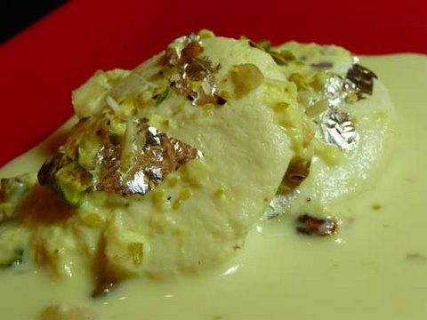 How to make Ras Malai -  Indian dessert recipe