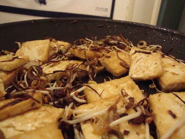 Tofu in padella