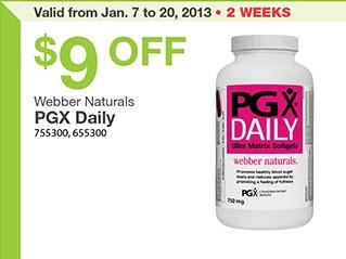 PGX Costco Coupon! #savings #deal @webber naturals