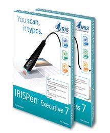 El IRISPen™ Executive 7 es un completo lápiz escáner para reconocimiento de texto. Funciona como un rotulador