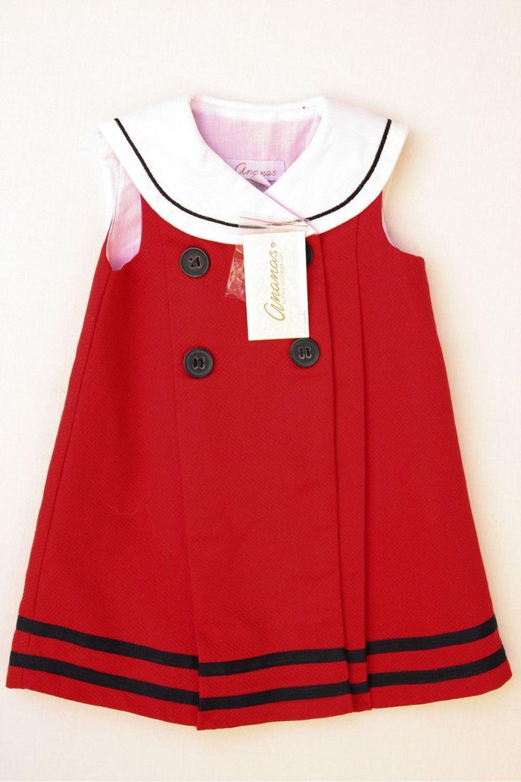 vestidomarinero niña | Inicio » Vestido marinero cruzado