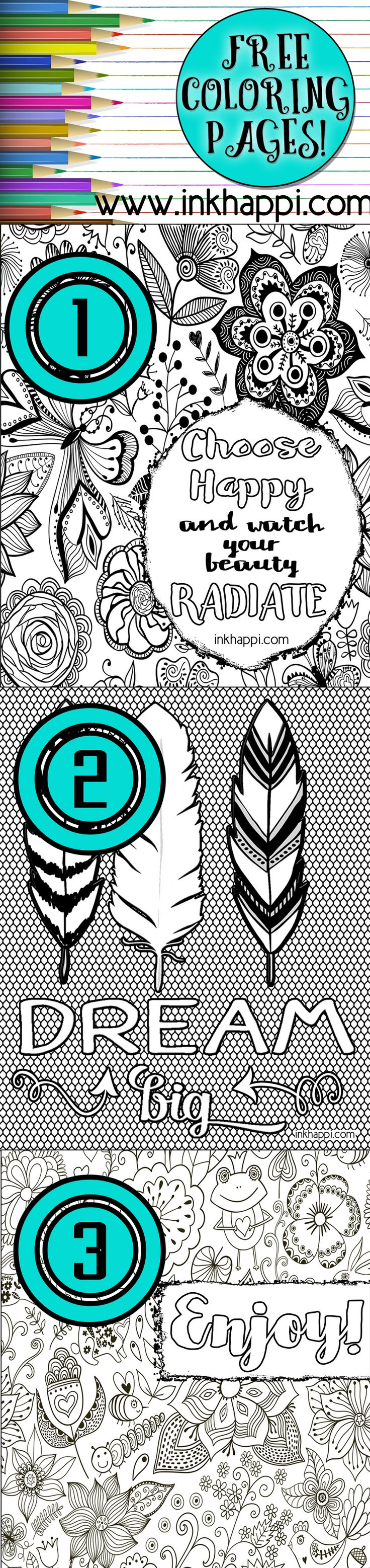 58 best Coloring Pages free printable images on Pinterest