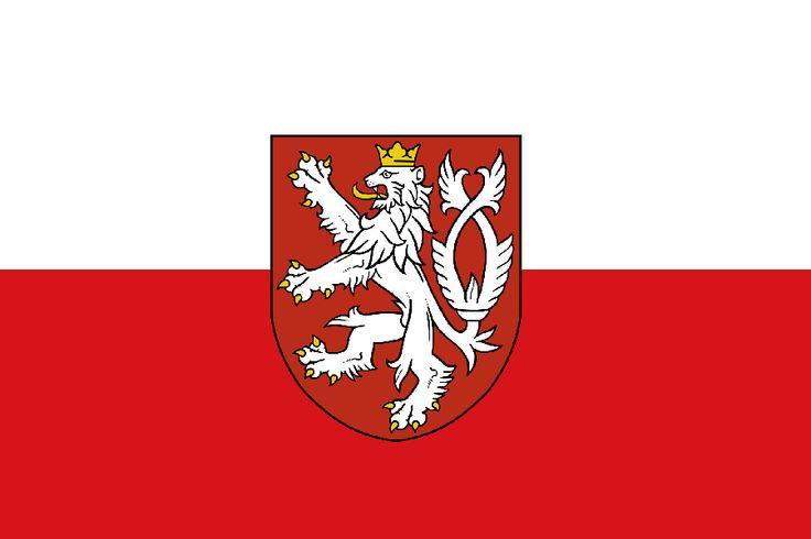 Flaga Czech w wersji zgodnej z historią