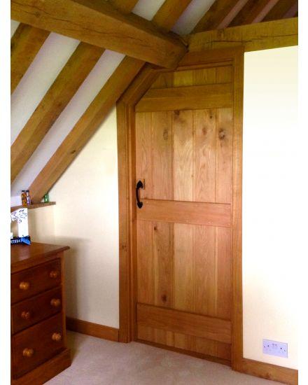 Solid Oak Rustic Barn Door