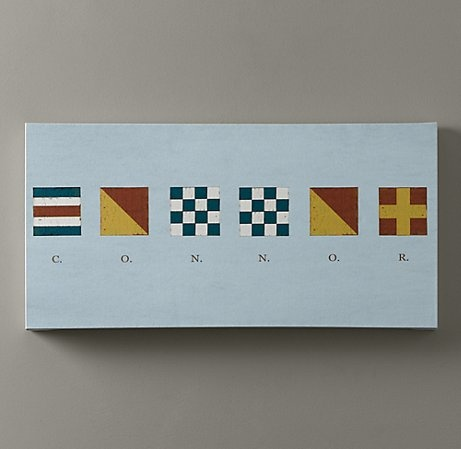 Connor: Baby Names, Nautical Flags, Flags Art, For Kids, Boys Rooms, Rooms Ideas, Neat Ideas, Baby Rooms, Kids Rooms