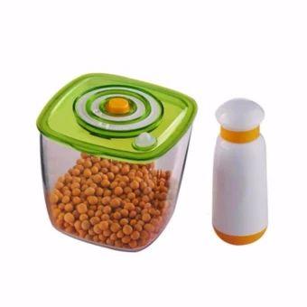 บอกต่อ  Manual Vacuum Storage Cup With Vacuum Pump Food Sealing CupPortable Vacuum Food Sealer Packing Machine - intl  ราคาเพียง  4,542 บาท  เท่านั้น คุณสมบัติ มีดังนี้ Manual Vacuum Storage Cup With Vacuum Pump Food Sealing Cup Portable Vacuum Food Sealer Packing Machine