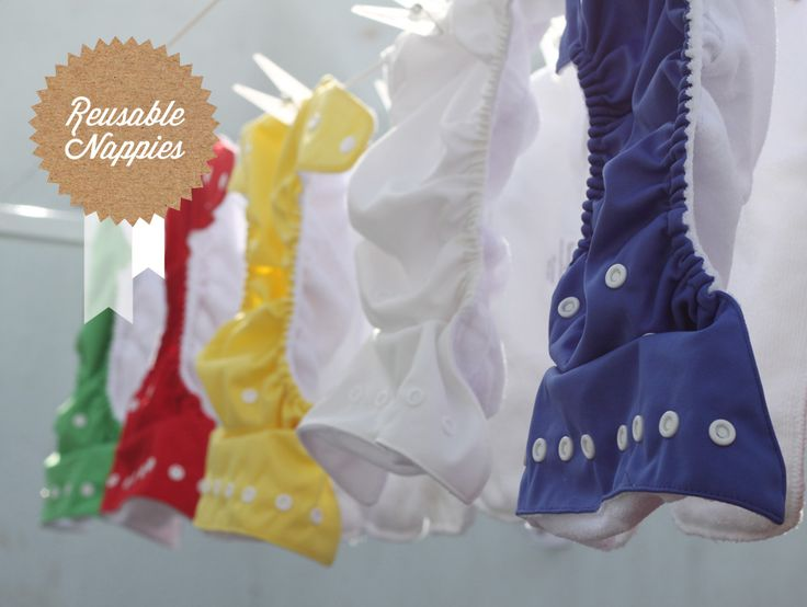 Fancypants Reusable Cloth Nappies… good for  the planet AND your budget!