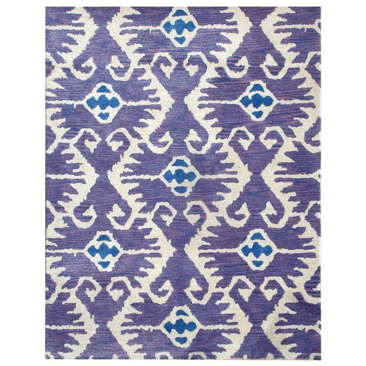 Safavieh Handmade Wyndham Lavender New Zealand Wool Rug 8 Ft X 10 Purple Size Cotton Geometric Living Room