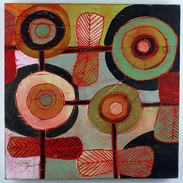 barbara gilhooly: Art Stuff, Graffiti Artworks, Paintings Art, Art Paintings, Color Inspiration, Barbara Gilhooli, Rugs Hooks Patterns, 3D Art, Gilhooli Studios