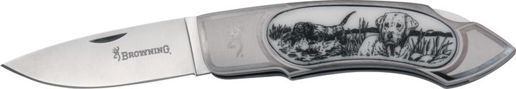 Browning 322547 Scrimshaw Folder Knife with Lab - $50.76 #Knives #Browning