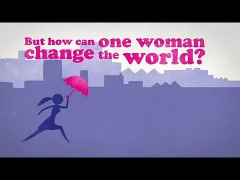 How can one woman change the world? Get started! Happy International #Women's Day 2012!