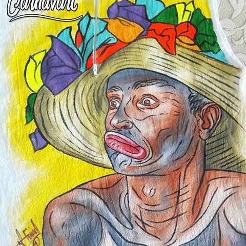 ¡Son de negro!  #Carnavart #Barranquilla #BarranquillaLovers #Curramba #Quilla #LaArenosa #ArteColombiano #Colombia #Colombian #Colombiarte #HechoAMano #HechoEnColombia #PintadoAMano #CamisasDeCarnaval #PintaCarnavalera #CamisasPersonalizadas #CarnavalDeBarranquilla #MadeInColombia #Marimonda #Marimondas #BarranquillaColombia #SomosCarnaval #quienloviveesquienlogoza #vacilatela