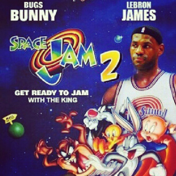LeBron James - Space Jam 2 | Noah's Basketball things of ...