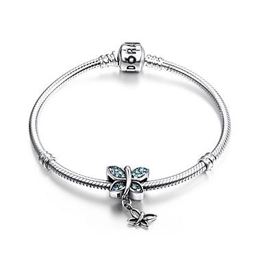 pand met sterling zilveren kralen S925 zilver bengelen voor de Europese charme zilveren armbanden 4761542 2016 – €20.57