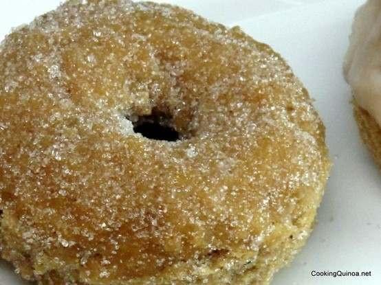 quinoa cake doughnuts