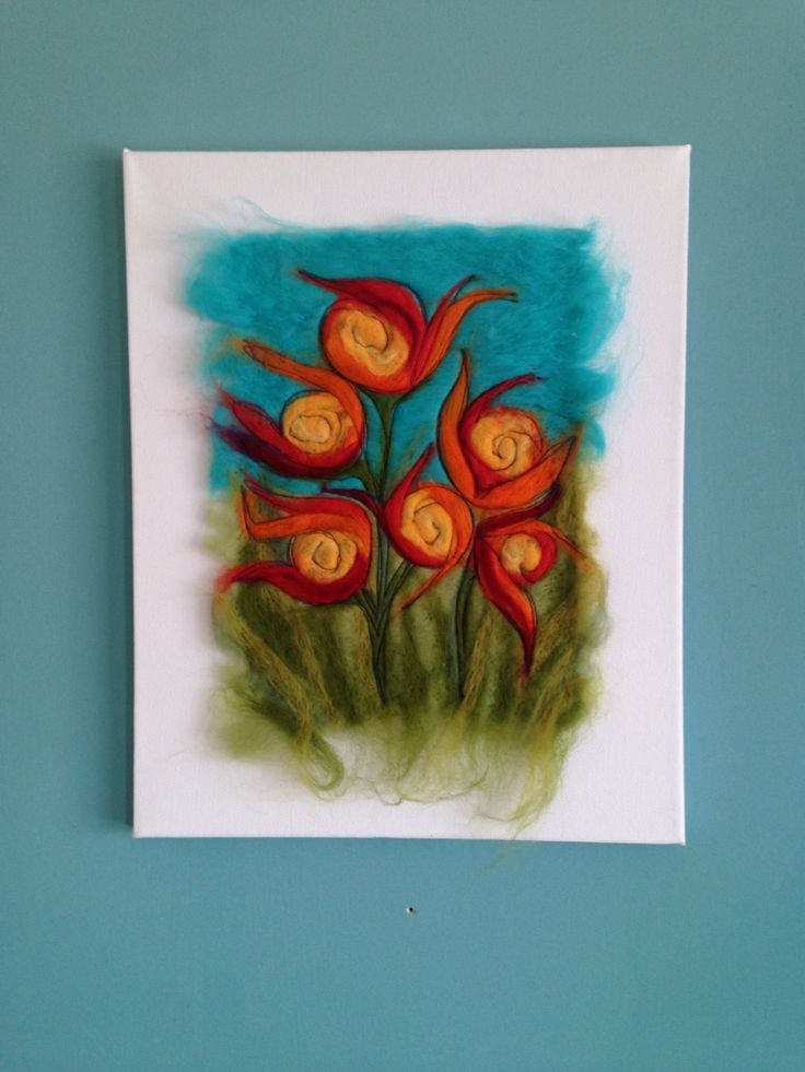 A personal favourite from my Etsy shop https://www.etsy.com/uk/listing/451740862/contemporary-textile-wall-art-needle