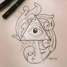 all seeing eye diseño
