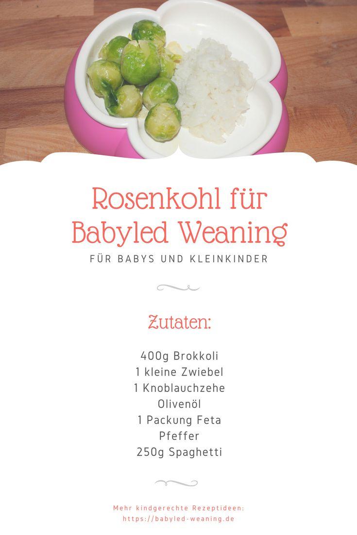 Rosenkohl schmeckt vielen Kindern nicht. Im Babyalter dagegen sind Kinder noch experimentierfreudig und essen unter Umständen auch gerne Rosenkohl. Gesund ist das Grüne Gemüse auf jeden Fall.