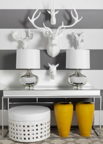"Deer Head - 39""H | Modern Menagerie | Living Room | Inspiration | Z Gallerie"
