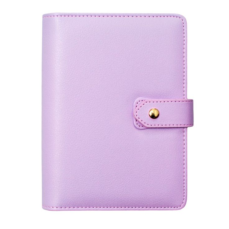 DOKIBOOK LILAC WITH SNAP BUTTON LARGE