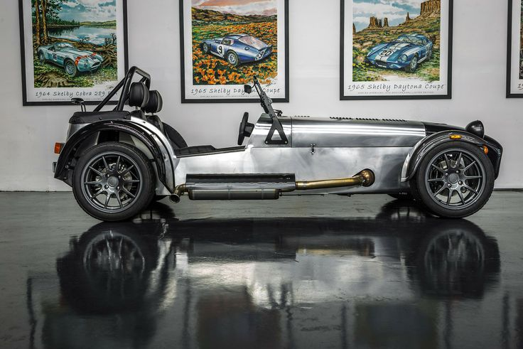 Convertible Caterham Seven 480 at Hillbank.  Visit us in Irvine, CA to check out this beauty.