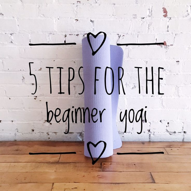 Check out my latest post for the beginner yogi!