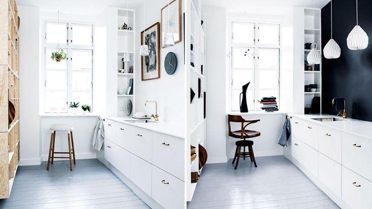 Eén keuken, twee stijlen van Deense interieurstylist   Inrichting-huis.com