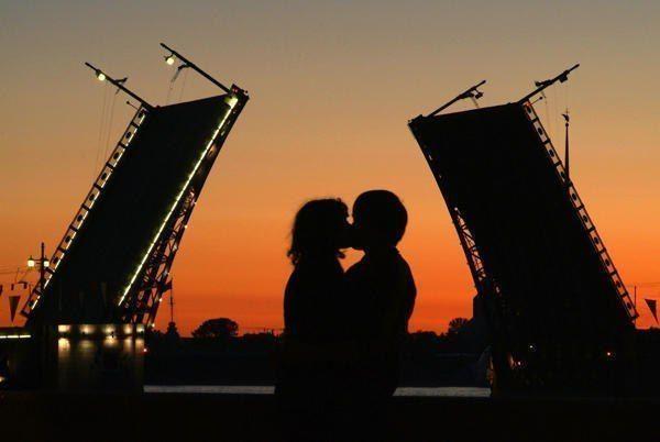 Места для поцелуев, приносящие вечную любовь