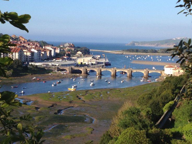 San Vicente de la Barquera en Cantabria