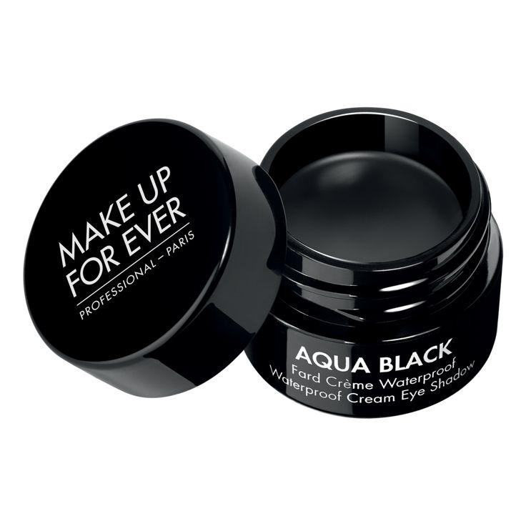 Aqua Black Waterproof Creme Oogschaduw