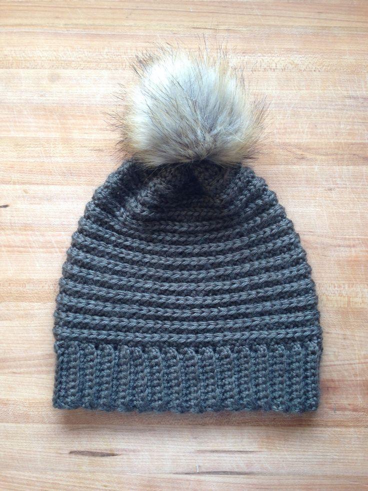 Textured Beanie Rustic Stitches Crochet Hats Crochet