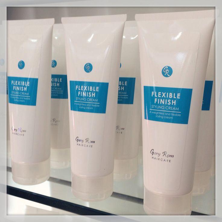 Gary Rom Haircare - Flexible Finish styling cream. A weightless and flexible styling cream that every man needs