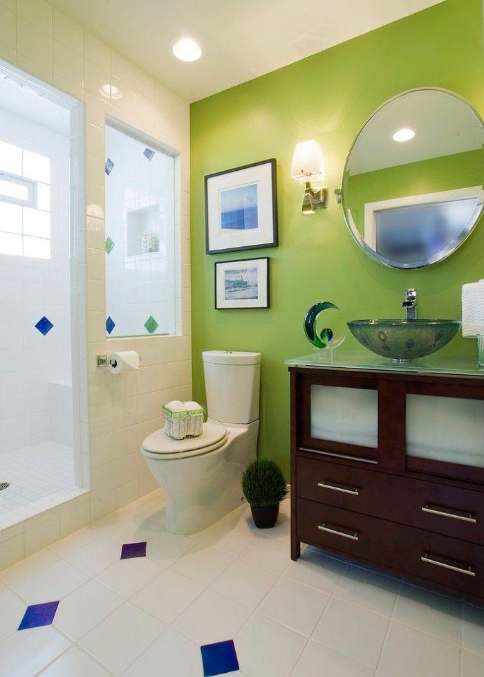 34 Inspiring Bathrooms With Stunning Details Green Bathroom