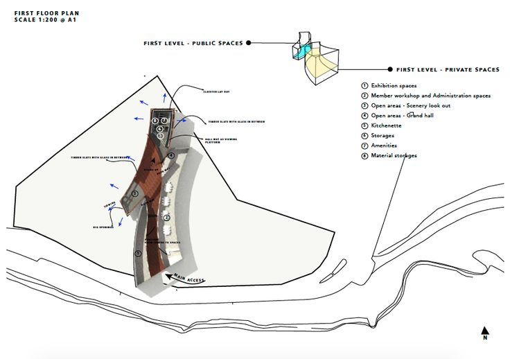 Cultural Centre Floor Plan