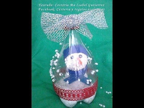 Navidad: Adornos Navideños Con Botellas De Plástico Para Re...