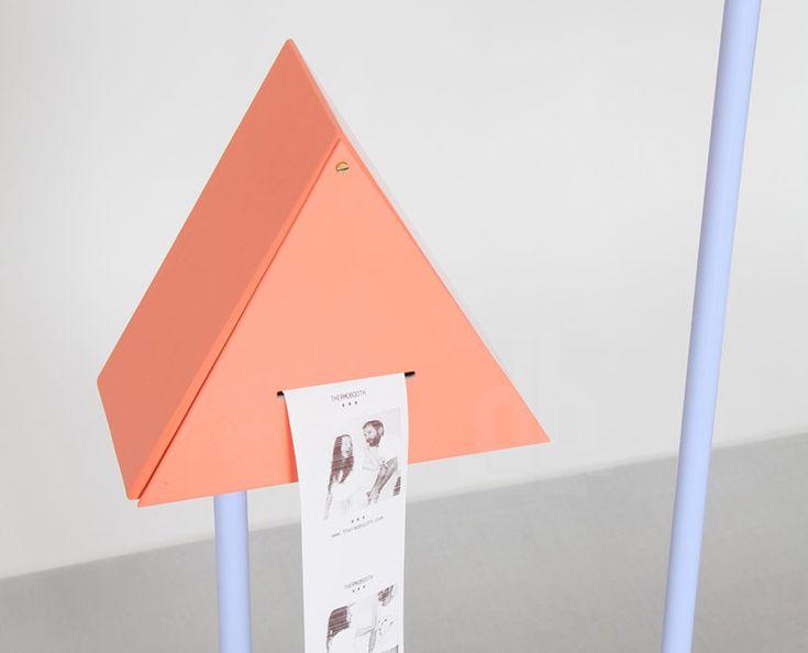 thermobooth: interactive OLED photobooth at vienna design week 2013 - designboom | architecture & design magazine
