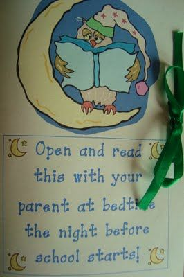 Back to School Poem to hand out at open house or home visits before school starts. SO CUTE!