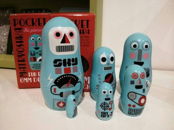 #robots #matryoshka #Lycka