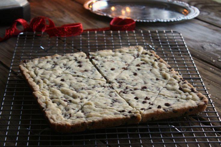 Chocolate+Chip+Shortbread+Cookies