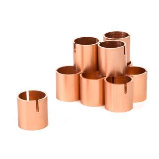 Copper+Wedding+Place+Card+Holders:+Simple+Ring+Design,+1+inch,+10+pack