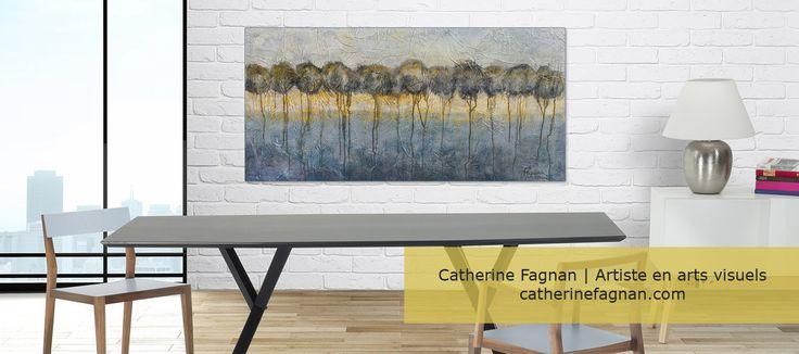 "Oeuvre ""Luminescence"" Artiste Catherine Fagnan www.catherinefagnan.com"