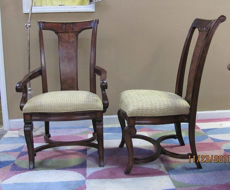 Thomasville Furniture Deschanel Dining Chair Set Of 6