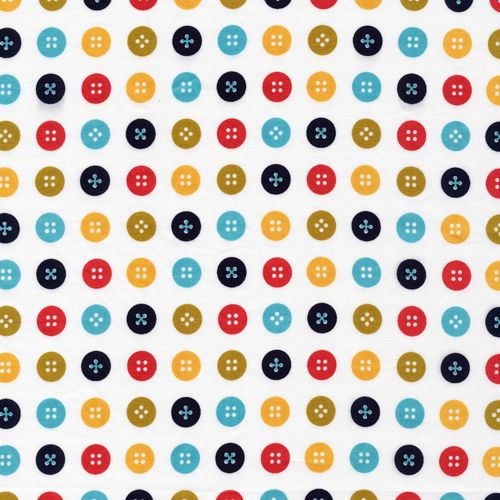 Joan   White :: Mad Mend by Michelle Engel Bencsko for Cloud9 Fabrics for Cloud9 Fabrics
