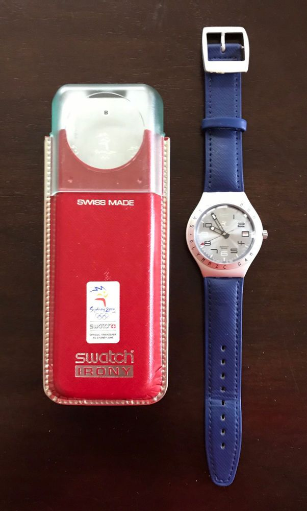 f7371307 2000 Sydney Olympic Games - Limited Edition SWATCH Irony Watch #Swatch # Sport