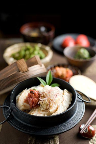鯛の塩焼きを使って、梅肉と冥加でさっぱり鯛釜飯 :: ご飯ですよ |yaplog!(ヤプログ!)byGMO