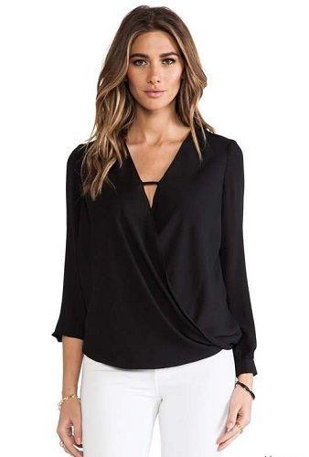 Las 25 mejores ideas sobre blusas elegantes para gorditas - Blusas de ultima moda ...