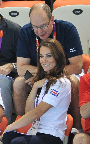 Kate Middleton, The Duchess of Cambridge - Olympics Day 13 - Synchronised Swimming 2012
