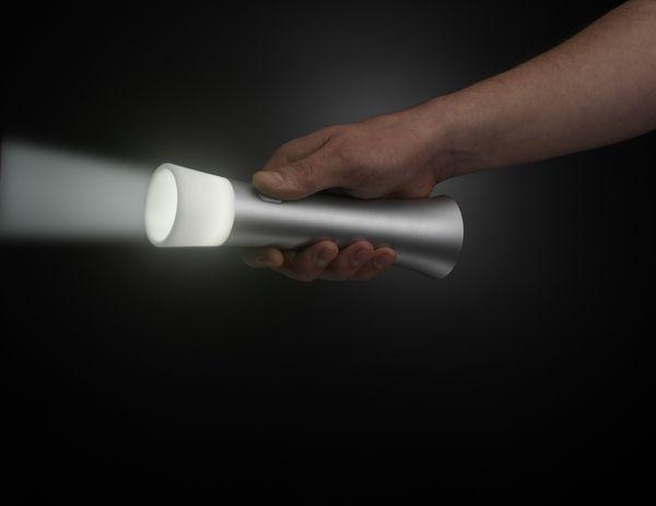 Trioh! The World's Most Beautiful Flashlight by Greg Hinzmann, via Behance