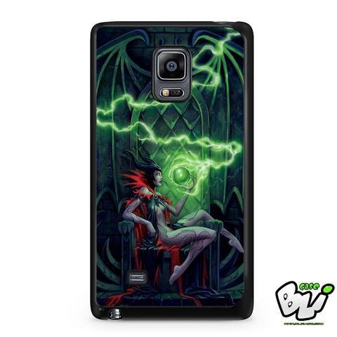 Disney Green Maleficent Samsung Galaxy Note Edge Case